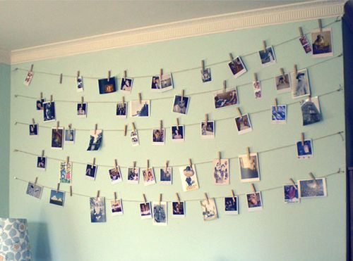 Twine-clothespin-wall-art