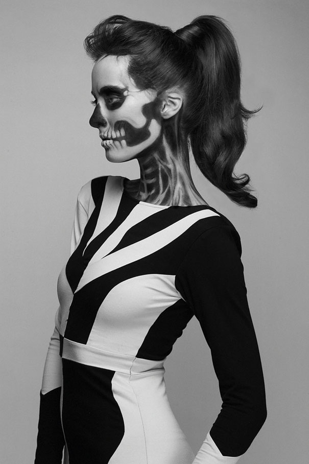 Skeleton-make-up-mademoiselle-mu-7