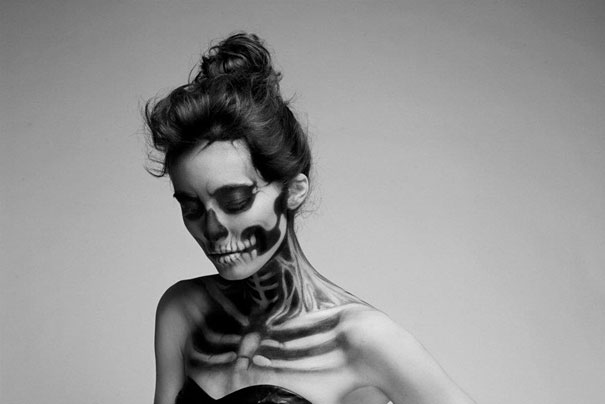Skeleton-make-up-mademoiselle-mu-3