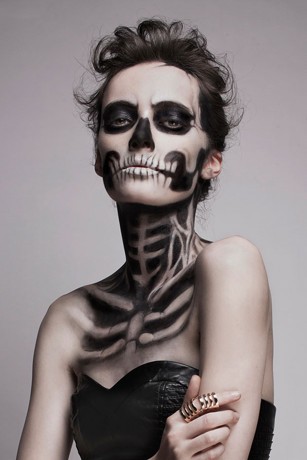 Skeleton-make-up-mademoiselle-mu-2